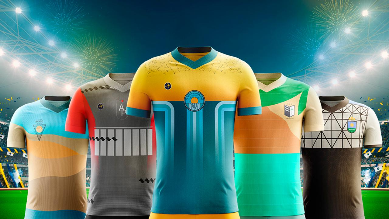 Agência cria camisetas de futebol inspiradas em pontos turísticos do Brasil  - Publicitários Criativos aac905d6a0d