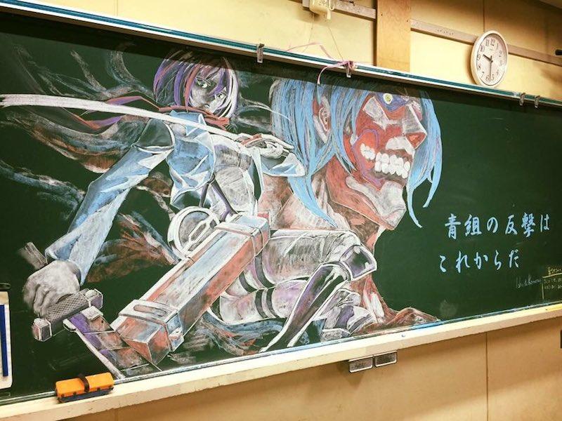 Professora Japonesa Motiva Seus Alunos Através De Desenhos