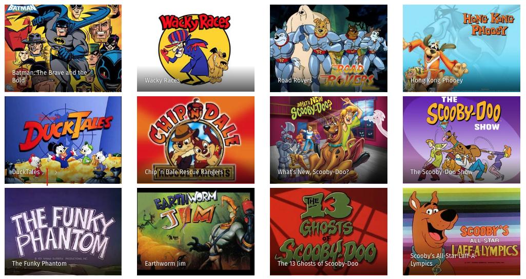 1000 Episodios De Desenhos Animados Dos Anos 80 E 90 Para Voce