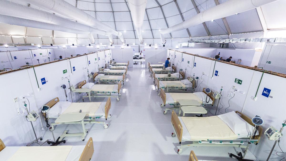 Agência inaugura dois hospitais em menos de 15 dias, para vítimas ...